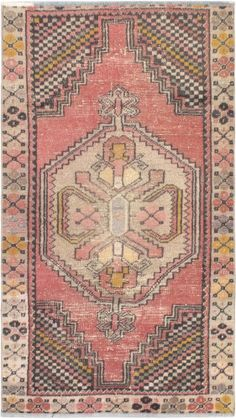 "Hand-knotted Turkish Carpet 3'3"" x 5'9"" Ottoman Vintage Traditional Wool Rug"
