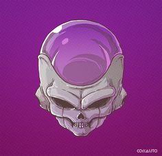 #Freezer Skull villains DBZ