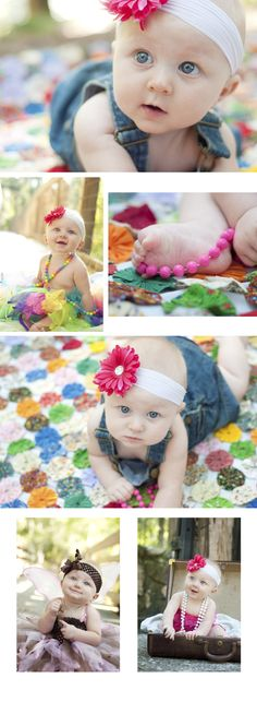 6 Month Baby Photography Ideas | month+old+baby+photo+shoot+ideas