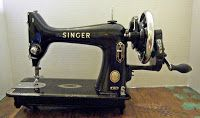 DragonPoodle Studio: How to convert a Singer 99 to a hand crank