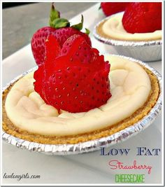 low fat cheesecake - linked up at the Thank Goodness It's Thursday link party