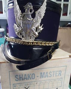 As proud marching band parents we had to scoop up these 2 1960s Shakos #goingonetsy #etsy #shako #marchingband #vintageshako #lintonhall #bandmom #band Band Mom, Kos, 1960s, Captain Hat, Parents, Vintage, Fashion, Dads, Moda