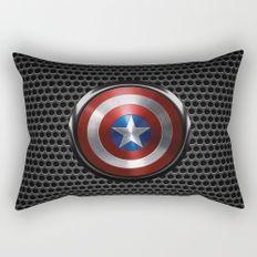Captain Roger Shield Rectangular Pillow