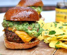 Chilli Con Carne Burger with Gran Luchito Smoked Chilli Paste