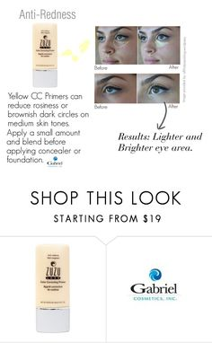 """""""Anti-Redness CC Primer"""" by jeanamelia on Polyvore featuring beauty"""