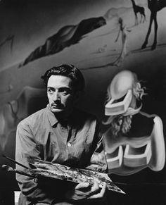 Salvador Dali, 1938, Eric Schaal.