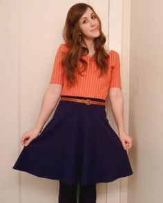 four square walls: half-circle skirt: best thing i've ever sewn
