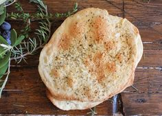 Thin Crispy Focaccia, an easy, crunchy Italian recipe, sprinkle it with your favorite seasonings. A perfect accompaniment to soup, stews etc |anitalianinmykitchen.com