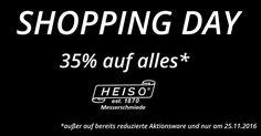 Nur morgen von 00:01 - 23:59 Uhr . Enjoy shopping: www.heiso-1870.de . Euer HEISO Team . #küchenmesser #kochmesser #weihnachtsgeschenke #geschenkideen #geschenkefürmänner #messerset #messerblock #heiso #heiso1870 #foodblogger #foodblogger_de