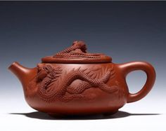 Check out our teapot selection for the very best in unique or custom, handmade pieces from our shops. Clay Teapots, Teapots And Cups, Yixing Teapot, Jasmine Green Tea, Tea Culture, Chinese Tea, Coffee Drinkers, Kettles, Chocolate Pots