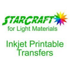 StarCraft Transfers for Light Materials 8.5x11 sheet, 10pk or 30pk