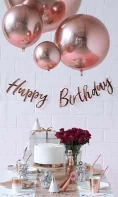 Birthday Wishes Cake, Happy Birthday Wishes Images, Gold Birthday Party, Happy Birthday Pictures, Happy Birthday Greetings, Surprise Birthday, Birthday Party Ideas, Birthday Candles, Happy Birthday Balloons