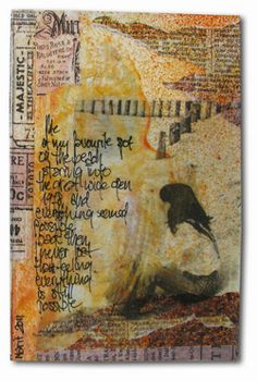 ART JOURNALING...Where Art & Words Meet