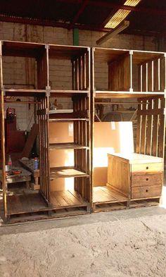 closet de pallets