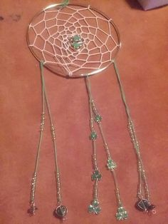 Check out this item in my Etsy shop https://www.etsy.com/listing/399038453/luck-of-the-wee-folk-dreamcatcher