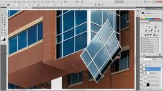 How to get creative with architectural structures in Photoshop, part 2