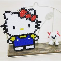 Hello Kitty perler beads by peggyknitting