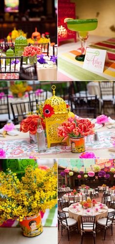 Wedding Rehearsal Fiesta by Details, Details – Style Me Pretty