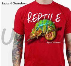 Leopard Chamelion 3D tshirt
