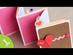 ▶ Manualidad dia de la madre: Pocket Stand-up Album // Regalo Día del amor y la amistad - 14 Febrero - YouTube