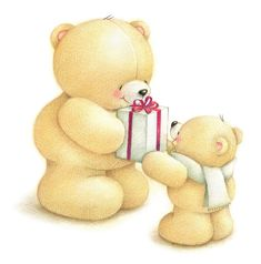 ♥ Even the bears at the Cottage have gifts for the new grand-darling.