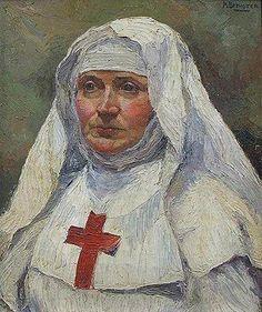 Portrait Of A Nun / Mary Brewster Hazelton