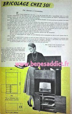 Passion du vintage 60 Patrons/Modèles GRATUITS Loisirs Créatifs 1957!