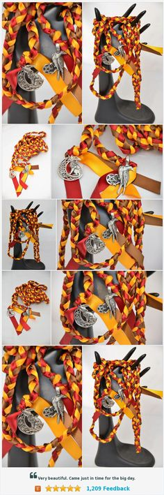 Raven Wolf Themed Wedding Handfasting Cord V2~ Nature ~ Handfasting ~ Tying the Knot ~ Wedding Ceremony ~ Odin ~ Dire Wolf https://www.etsy.com/DivinityBraid/listing/563336269/raven-wolf-themed-wedding-handfasting?ref=related-4