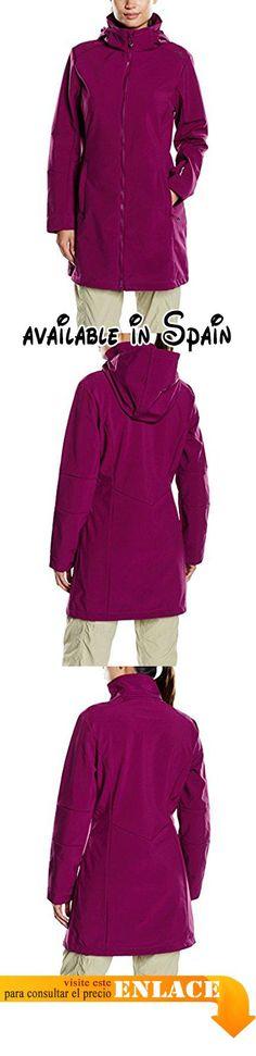 B00Y35DWF8 : CMP  F.lli Campagnolo Softshell chaqueta para mujer mujer Mantel Softshell Mantel Purple - Lampone. Membrana resistente al viento y al agua de 7000 mm. Material exterior: 96% poliéster y 4% Elastano. Forro polar: 100 % poliéster. Tacto suave #Deportes #SPORTING_GOODS