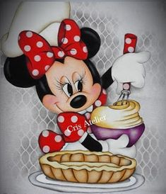 Storiasdacarmita: Torta de frango cremosa Mickey E Minnie Mouse, Minnie Mouse Pictures, Cute Cat Wallpaper, Disney Wallpaper, Baby Disney, Disney Art, Disney Drawings, Cool Drawings, Miki Y Mini