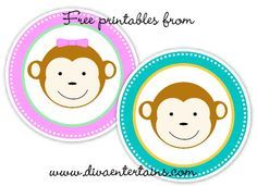 FREE Printables – Monkey Tags - bjl