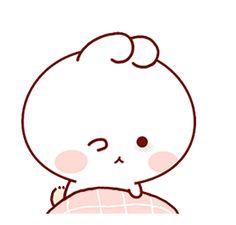 LINE Creators' Stickers - Happy bunny Sunny 2 Example with GIF Animation Cute Couple Cartoon, Cute Cartoon Pictures, Cute Love Cartoons, Cute Love Pictures, Cute Love Gif, Cute Cat Gif, Cute Bear Drawings, Cute Kawaii Drawings, Cute Kawaii Animals