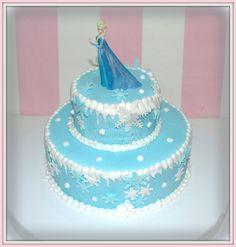 Virginias Cake: Tarta Frozen Elsa