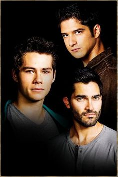 Scott, Stiles and Derek Teen Wolf