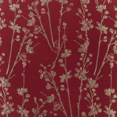 Meadow - Cardinal fabric, from the Atrium collection by Prestigious Textiles Red Aesthetic, Aesthetic Design, Aesthetic Vintage, Textile Texture, Textile Fabrics, Aesthetic Iphone Wallpaper, Aesthetic Wallpapers, Prestigious Textiles, Vintage Heart