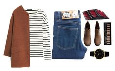 """""""Simple Day"""" by maevaxstyle ❤ liked on Polyvore featuring Cheap Monday, J.Crew, H&M, Forever 21, MANGO and Larsson & Jennings"""