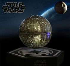Cheap 360 degree speaker, Buy Quality speaker magnetic directly from China speaker sound Suppliers: original Star Wars STARWARS death star maglev bluetooth wireless stereo rotating 360 degree speakers Magnetic levitation sound Death Star, Audio Crossover, Magnetic Levitation, Star Wars Gifts, Boombox, Bluetooth Speakers, For Stars, Consumer Electronics, China