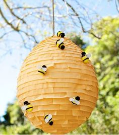"""Beehive Pinata. Perfect for the """"Honey, I love you"""" party"""