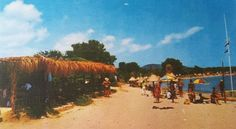 Es Cana Ibiza Spain in the 1980's