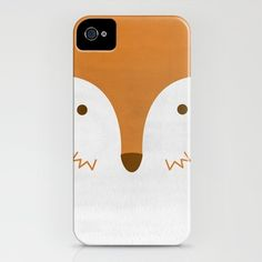 society6: mr fleecy fox iphone case