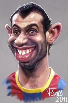 Javier Mascherano   FC Barcelona (medium)