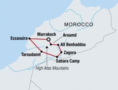 Uncover the secrets of Morocco on this southbound discovery tour for solo travellers. See Ait Benhaddou kasbah, ride a camel into the Sahara and visit Essaouira beach.