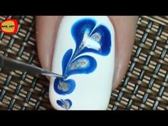 Quick,Easy nail art at home - YouTube