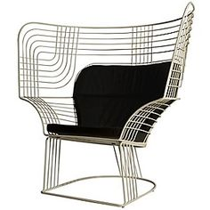 Link Easy Chair by Tom Dixon|$3,375.00  A modern throne for the modern home.