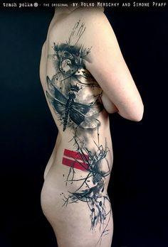 Tattoo by Simone Pfaff Trash Polka® Tattoo by Simone Pfaff and Volko Merschky