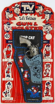 TOP CAT GUN & HOLSTER #HannaBarbera
