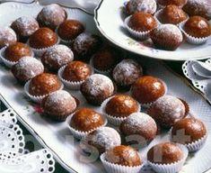 Lajos Mari konyhája - Csokoládés-mézes golyó