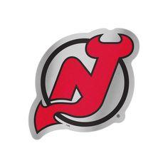 "WinCraft New Jersey Devils 7.5"" x 4.25"" Auto Emblem Decal - $5.99"