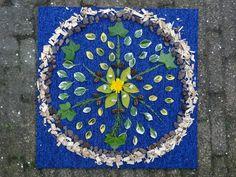 Mandala's en andere prachtige creaties van natuurlijk materiaal (groep 1/2 c)