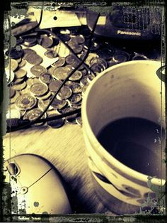 It's true, my desk is a mess and my coffee mug is dirty...but the coffee still tastes great!